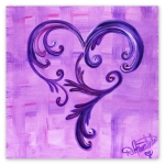 Beyond the Boundaries heart art