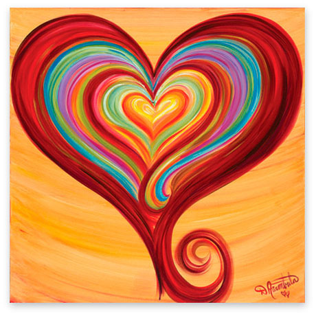 'Heart of Compassion' by Debbie Marie Arambula
