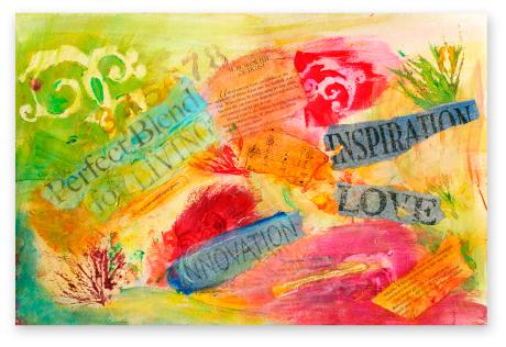 """Perfect Blend"" by Debbie Marie Arambula, Heart Artist"