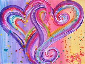 """""""Two Heart Splash Dance 2"""" by Debbie Marie Arambula"""