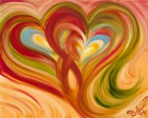 Two Heart Tango by Debbie Arambula