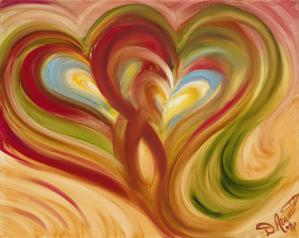 Two Heart Tango by Debbie Arambula