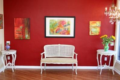 Perfect Blend Multi colored art print
