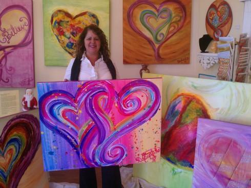 Debbie Marie Arambula Heart Artist