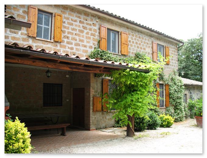 Italian villa in Orvieto