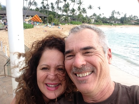 Steve and Debbie Arambula in Maui