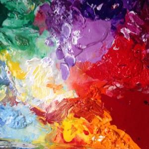 The Heart Artist Palette