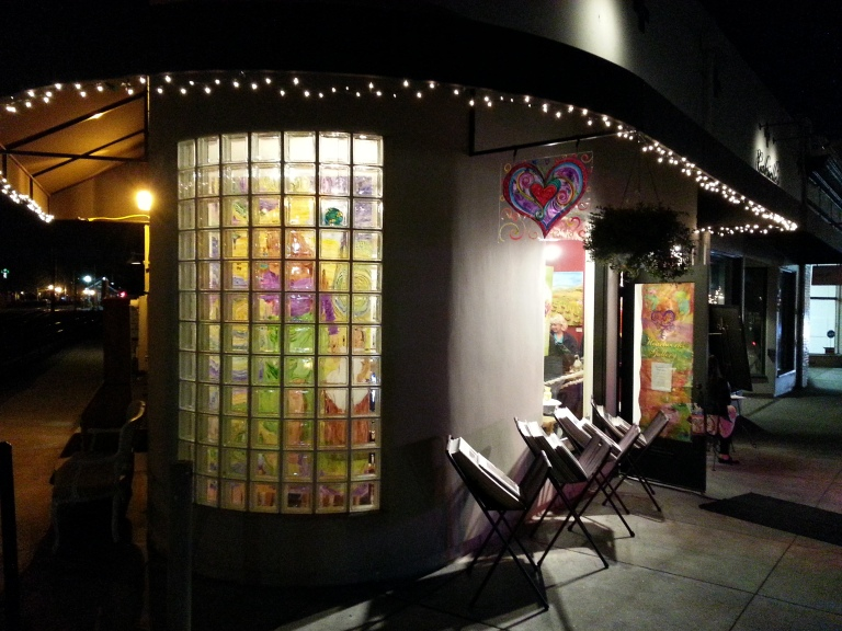 Debbie Arambula's Heartworks Gallery in Historic Downtown Campbell California