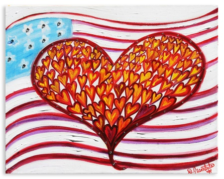 not-forgotten heart art by debbie arambula