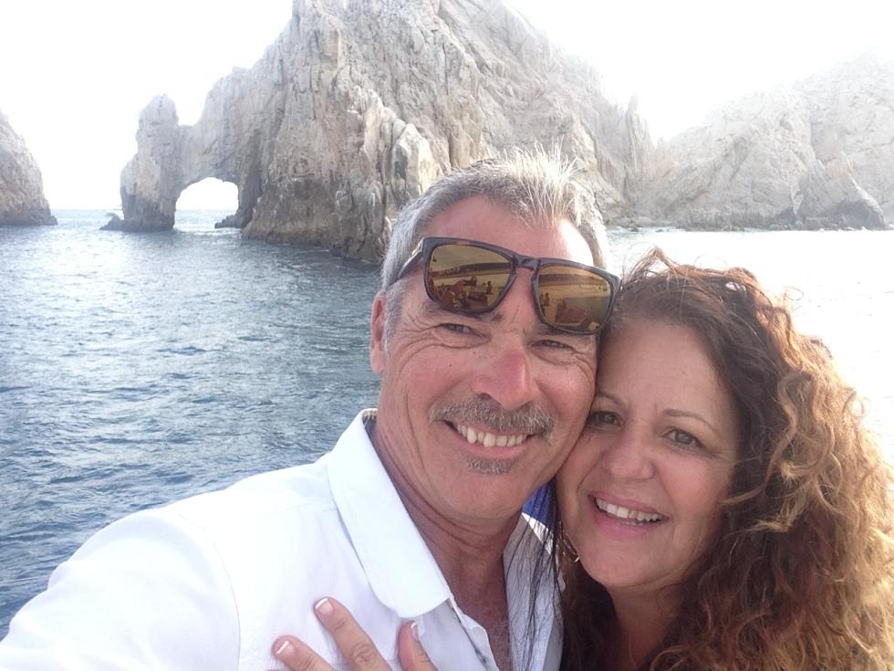 Steve and Debbie Arambula in San Jose del Cabo for their 35th Wedding Anniversary 2015