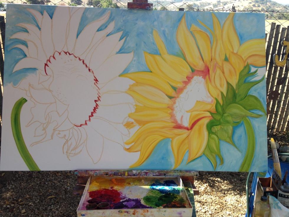 debbie-arambula-sunflower-oil-painting