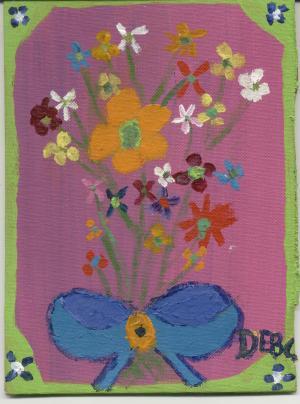 Debbie's first art