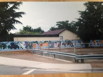 Debbie Arambula Campbell Mural 'Hearts Delight'